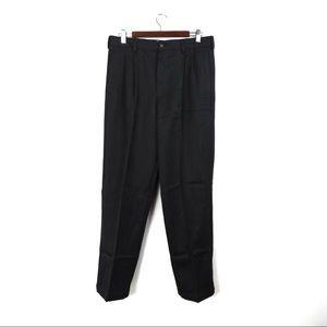 F105 L.L.Bean Classic Fit Wool Gray Pants 34/32